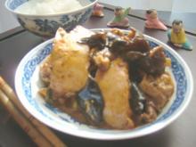 家常豆腐テーブル