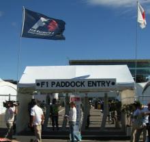 paddock entry