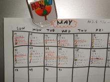 離乳食カレンダー
