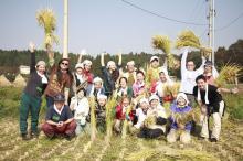 『六ヶ所村ラプソディー』~オフィシャルブログ-天手子米収穫祭全員集合