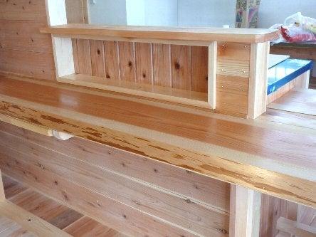 松島匠建の建てる木の家 「太田生品の家」Web日誌-カウンターOF