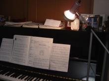 我が家のピアノ!