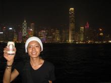 僕と香港夜景