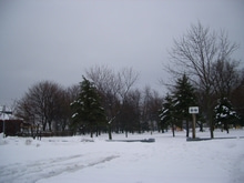 オンタリオ湖畔