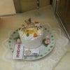 ペットのお誕生日ケーキの画像