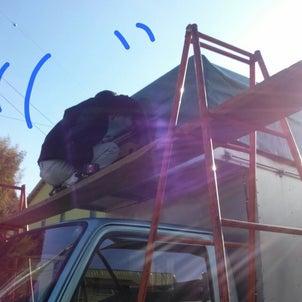 本日絶好の作業日★K様・トラック幌の画像