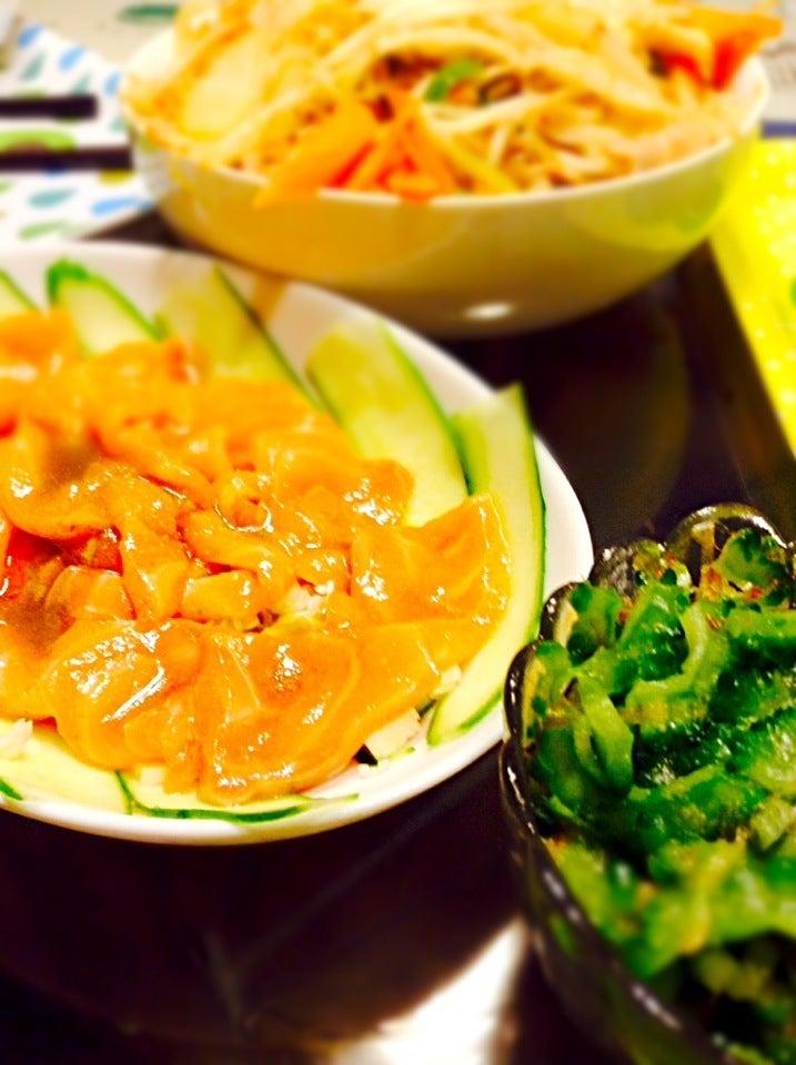 夕飯。 SnapDish 料理カメラ