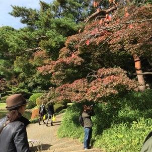 新宿御苑へスケッチの画像
