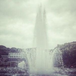 冬に噴水の近くに行くもんじゃない(ーー;)の画像