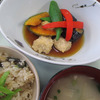 5月18日 鶏つくねと野菜の揚げ浸しの画像