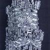 祭・和の小物『手拭・白扇・葉書・礼』 481の画像