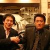 喧嘩して友達になった有名人。レーシングドライバー飯田章の画像