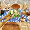 焼き立て食パンともりもりサラダの朝の画像