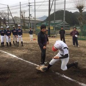 高校野球部に走塁指導!!の画像