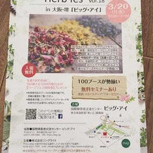 3月20日大阪・堺Herb fesの画像