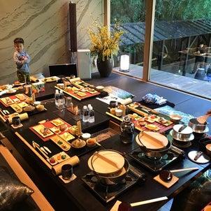 九州熊本秘境白川源泉 竹ふえ 朝食の画像