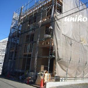 アパートも建築中です(‐^▽^‐)の画像
