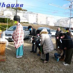 地鎮祭が行われました(´∀`)の画像