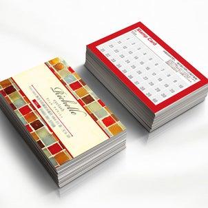 【可愛いサロンメンバーズカード】料金表カードやご予約ショップカード・スタンプカード作成の画像