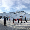 滑り始めて2日目 WhistlerからBlackcomb探険の画像