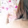ピンクのクリスマスツリーの画像