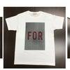 レンチキュラーをプリントで再現|文字が変化する不思議なTシャツプリントの画像