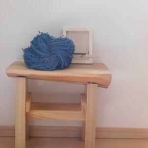 藍染と茜染めの画像