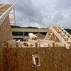 M様邸工事 フレーミング 屋根の画像