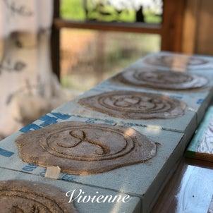 モルタルアート教室スタートしました❣️の画像
