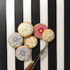 スカルプチュアペインティングクッキー フラワーの画像