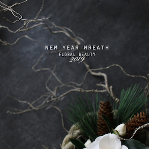 【募集】FLORAL BEAUTY 2019 NEW YEAR WREATHの画像