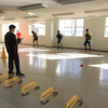 酒田南高校サッカー部でトレーニング指導の画像