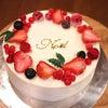 うずら屋のクリスマスケーキの画像