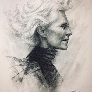 老齢の人を描く時のおトクな情報の画像