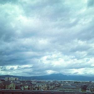 台風の後の雲は不思議️龍がいる?見えますか?(^^)の画像