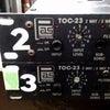 Professional Audio Systems TOC-23 チャンネルデバイダーの修理の画像