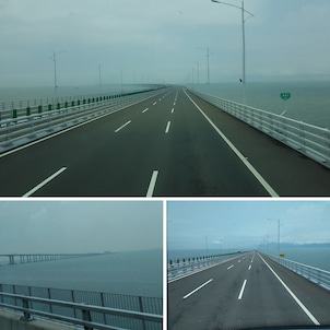 世界一長い橋「港珠澳大橋」の画像