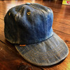 70's Levi's  INDIGO denim capの画像