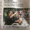ドイツの新聞に記事掲載の画像