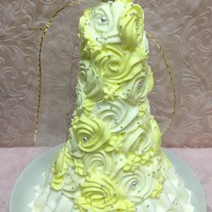 プリンセスドールケーキの画像