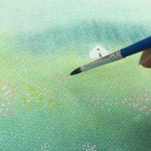 (葉祥明美術館公認)パステルと水彩で葉祥明さんの絵を描く講座「妖精の棲む森」 開催します!の画像