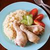 【海外おうちごはん】炊飯器でシンガポール風チキンライスの画像