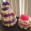 オムツのケーキの画像