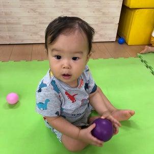 親子体操のパワー❣️の画像
