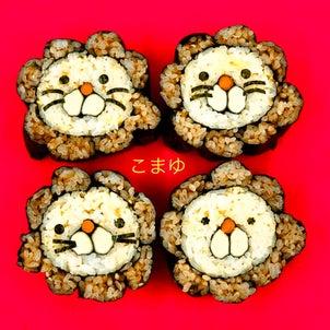 錦城高校での飾り寿司授業(1)の画像
