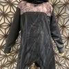 gouk 手書き縦シマのハイネックコートの画像