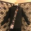 gouk侍 斜め編み上げのハイネックカットソーの画像