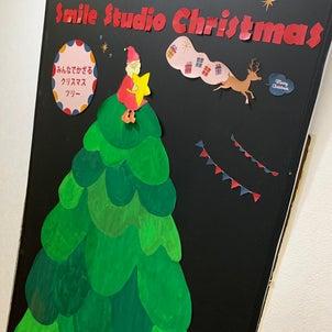 完成!みんなでかざるクリスマスツリーの画像