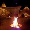今年で7回目かよ!毎年恒例年末の24時間焚き火開催中ーーーー!の画像