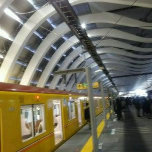 東京メト銀座線 渋谷駅の画像